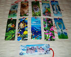 3D Bookmark -Dolphins-Wolf-Swan + More - 11 Different Designs  SUPERB Free Post