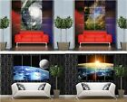 Outer space Nebula Earth Atmosphere moon large giant poster print photo art