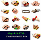 New HQ Various Leather Belt Clip Pocket Tool Pouches & Belt