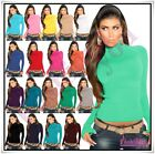 Sexy Women's Turtleneck Jumper Ladies Everyday Casual Jumper Size 8/10,10/12 UK
