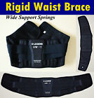 New ICSIGMAX Waist Back Support Brace Heavy Weight Lifting Wide Springs