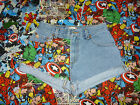 VARIOUS MARVEL COMIC LEVI DENIM SHORTS SIZE 8/10/12/14/16/18 HIGH WAIST