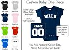 Bills Baby One Piece - Custom Name and Number, Creeper, Onesie