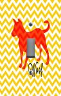 Light Switch Plate Switchplate & Outlet Covers CHEVRON ~ YELLOW WITH DOG WOOF!