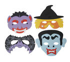 HALLOWEEN FACE EYE MASKS FANCY DRESS EVA FOAM KIDS ADULTS PARTY LOOT BAG SCARY
