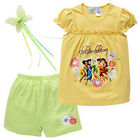 BNWT ~ GIRLS SIZE 6 LICENSED DISNEY FAIRIES PYJAMAS PIXIE FOREVER BONUS WAND NEW