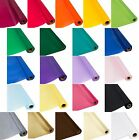 Plastic Banquet Tablecloth Cover Roll - 300 Feet Long - Available in 18 Colors!