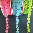 1 Metre BERTIE'S BOWS BIRD AND FLOWER FELT RIBBON Trim ♥ CHOICE OF COLOURS
