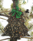 BIG TREE - Bird Seed Feeder with hanger - Organic wreath