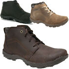 Caterpillar Boots Mens Transform CAT Casual Boot Browns Leather Lace Up Shoes
