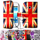 SAMSUNG GALAXY FAME S6810 MAGNETIC PU LEATHER FLIP WALLET CASE COVER & FILM