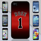 New Derrick Rose Bulls Jersey Apple iPhone & Samsung Galaxy Case Cover