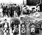 SUPERB QUADROPHENIA COLLAGE #2 THE WHO MODS SCOOTER CANVAS POSTER PHOTO PRINT