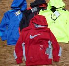 NIKE BOYS TRAINING LOGO THERMA-FIT PULLOVER LITE WARM POLYESTER HOODIE LIST $40