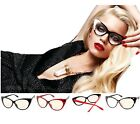 New Classic Cat Eye Glasses Retro Vintage Style Clear Lens Glass-Style# 3801CL