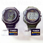 TIMEX EXPEDITION XL VIBRATING ALARM INDOGLO WATCH: BLACK T49950 or GREEN T49951