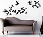 Branches With Flying Birds Wall Art,Home Decor Decals,Wall Stickers,Decals w146