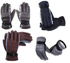 MENS THERMAL PADDED SKI WARM WATERPROOF SNOW BOARD WINTER MOTERBIKE GLOVES