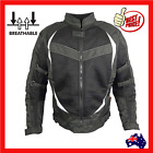 Mens Motorcycle Motorbike Biker Jacket Cordura Textile New Summer Zip Out Liner