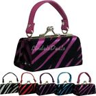 NEW PURSES / BABY ZEBRA STRIPED PURSES / ASSORTED COLORS / BUY 3 GET 1 FREE