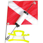 JCS® Foam Dive Float, Flag & 100FT Line on Line Holder