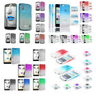 For your Mobile Phone Hard Case Rain Drop Stylish Protector Skin Cover Free Film