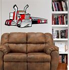 Kenworth Big Rig Flatbed Truck WALL GRAPHIC FAT DECAL MAN CAVE KIDS ROOM 2019