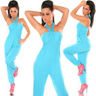 Sexy Neckholder Waterfall Jumpsuit Catsuit A Few Colours