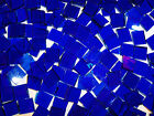"100 1/2"" Cobalt Stained Glass Mosaic Tiles"