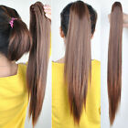 50cm long Girl's Hairpiece Long Straight Claw Clip Ponytail Hair Extensions HP48