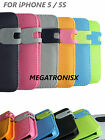 iPhone 5 / 5S FLIP COVER WALLATE CASE WITH CARD HOLDER SKID PROOF