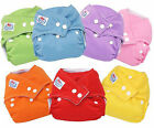 Lot Baby Cloth Nappy Washable Reusable Cover Without/With Insert Nappies Diaper