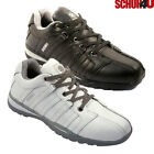 MENS SAFETY BOOTS LEATHER STEEL TOE CAPS ANKLE TRAINERS HIKING SHOES SIZE SB1