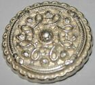 6x Rare Vintage Metal Detailed Jacket Coat Cuff Buttons ~ 15mm or 22mm