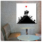 LARGE Canvas Banksy Graffiti Kids on Guns Hills photo fine art decor photos