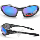 Mens UV400 Eyelevel Sports Sunglasses Polycarbonate Multi Coat Mirror Lens