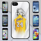New Marilyn Monroe Kobe Bryant  Lakers Jersey iPhone & Galaxy Case