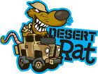 ROVING LANDS CARTOON TEE SHIRT LAND ROVER SERIES 3 DESERT RAT 8TH ARMY SAS LRDG