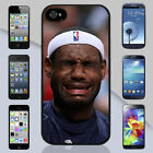 New Lebron James Crying Miami Heat NBA Apple iPhone & Samsung Galaxy Case Cover