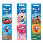 BRAUN ORAL-B STAGES POWER GENUINE REPLACEMENT TOOTHBRUSH HEAD 3 DESIGN pack of 2