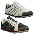 NEW MENS GENTS CANVAS DESIGNER CASUAL DECK PUMPS PLIMSOLLS TRAINERS SHOES SIZE
