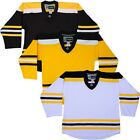 BOSTON BRUINS Customized Hockey Jersey  NHL Style Replica  W/ NAME & NUMBER