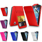SAMSUNG GALAXY S4 I9500 I9505 PU FLIP LEATHER CASE COVER POUCH & SCREEN GUARD