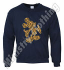 MICKEY MOUSE HANDS JUMPER SWEATER SWEATERSHIRT LEOPARD YMCMB SWAG DISOBEY DOPE