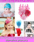 ♀ NEW FASHION WONDERFUL BABY GIRL HEADBAND GLITTER FEATHER DIAMOND FIT ALL AGE ☺