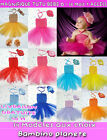 ❤ WEDDING TUTU FOR BABY GIRL DRESS WITH HEADBAND MATCH FREE DELIVERY CEREMONY ✿