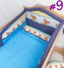 5 Piece Baby Kids Bedding Set Duvet Cover   Safety Bumper to fit Cot   Cot Bed