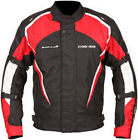 Buffalo Storm Rider Motorcycle Scooter Waterproof Textile Jacket CE Armour RED