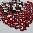 dear red  sparkling Resin Rhinestone Flatback Crystal 2/3/4/5/6MM 14 Facets