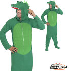 Adult Mens Crocodile Green Animal Onesie Fancy Dress Costume Outfit